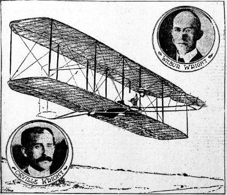 write brothers Last week, the british aviation publication jane's all the world's aircraft declared  that the wright brother's historic 1903 flight at kitty hawk was.