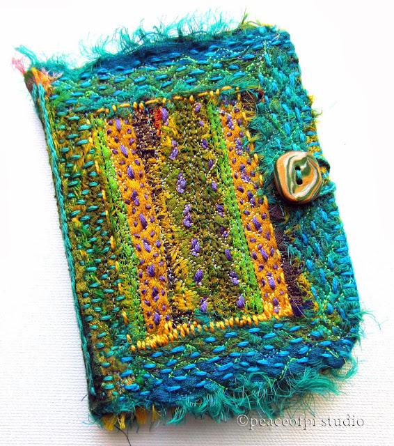 Book Cover Material Yoga : Peaceofpi studio hand embroidery fabric book