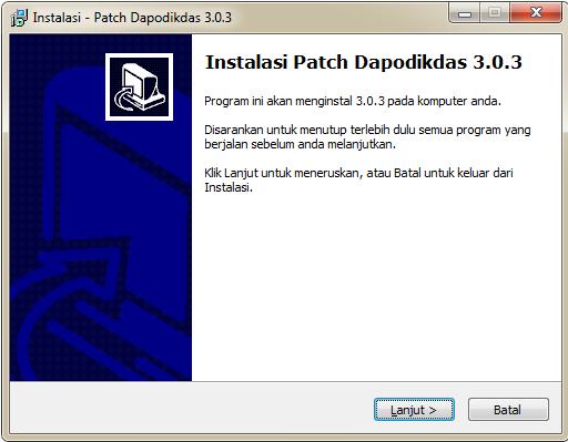 Download Patch Dapodik 3.0.3 Tahun 2015