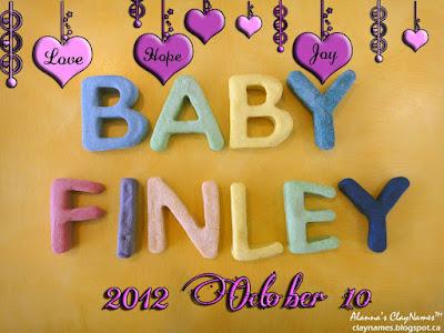 Baby Finley October 10 2012