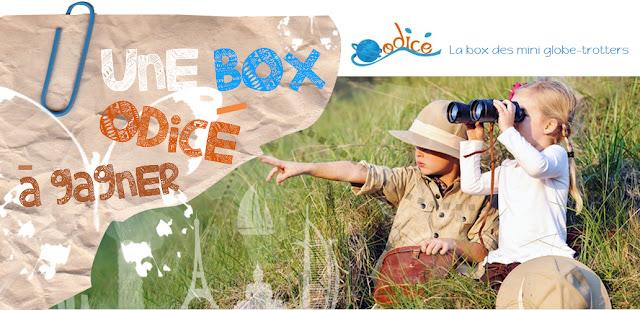 Jeu Odicé Box et Mademoiselle Bons Plans: une box ludo éducative pour enfants à gagner
