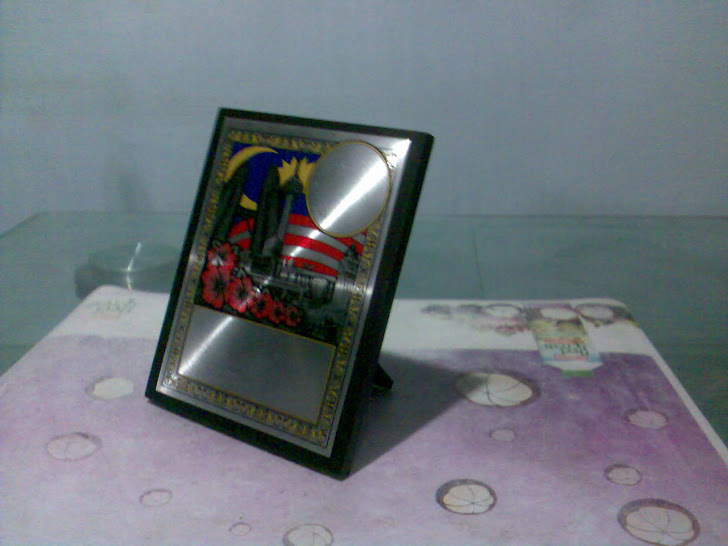 STAND PLAQUE  RM16.00