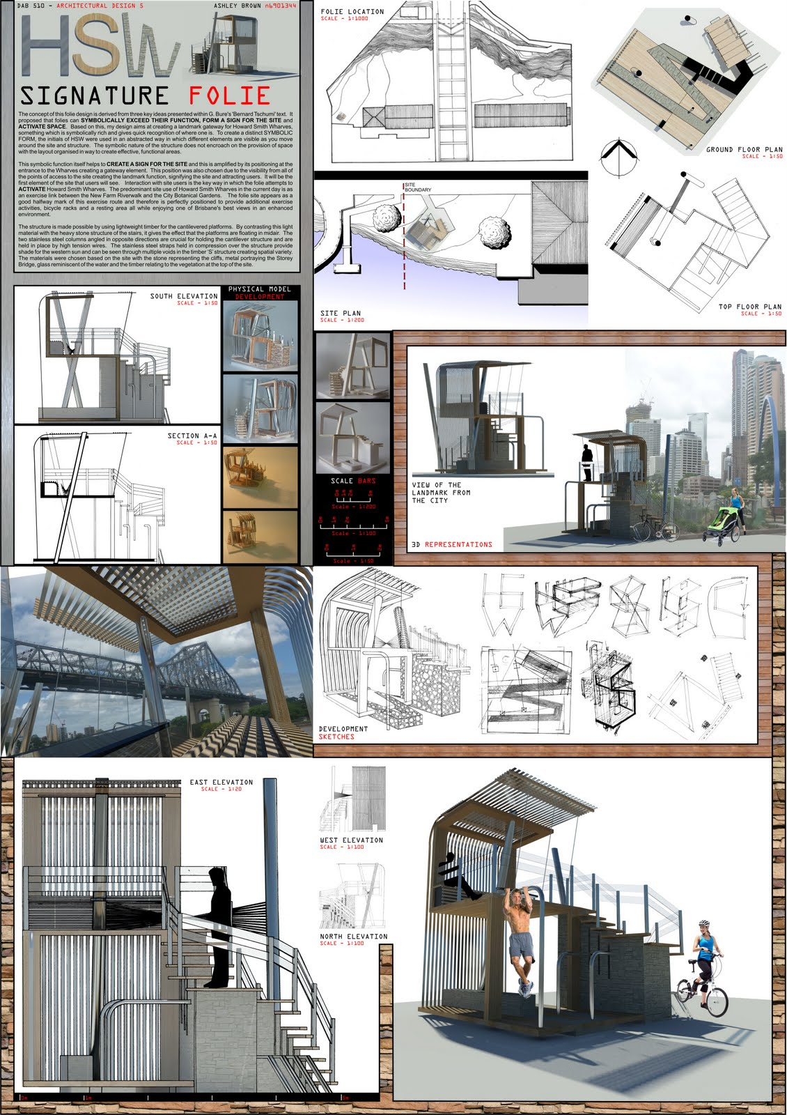 BEYOND REPRESENTATION Architectural Design Final Folie Design - Unique design presentation board layout design