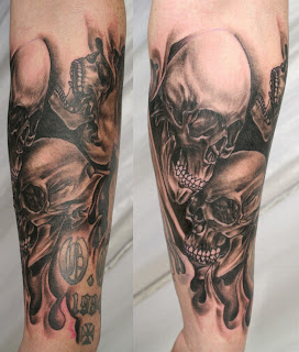 best pictures of Skull Tattoos-19