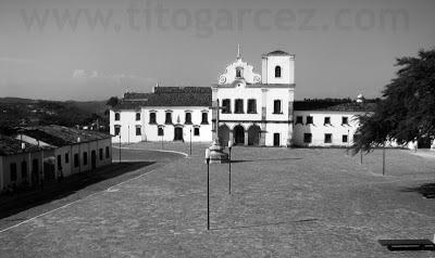Igreja e Convento de São Francisco e o Museu de Arte Sacra, na Praça São Francisco, em São Cristóvão