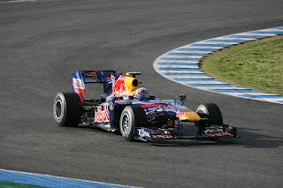 Gambar Mobil Balap F1 Red Bull 05