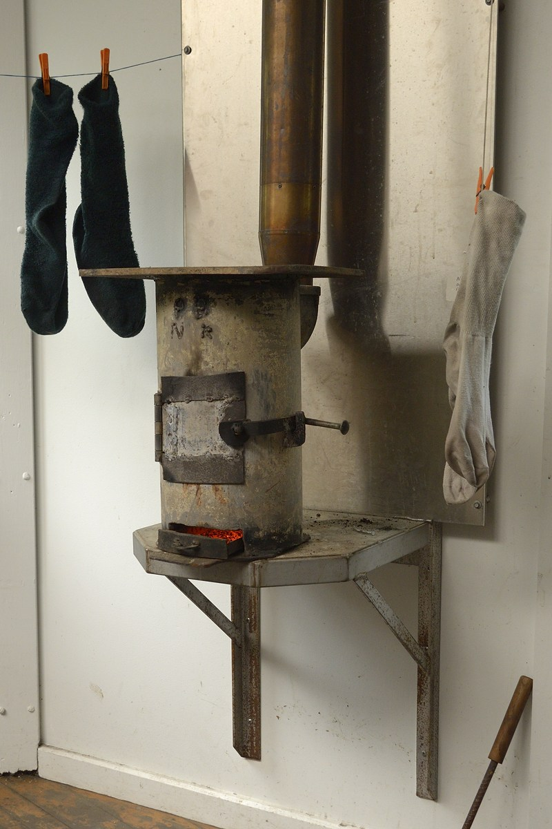 Tahune Hut stove