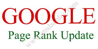 google update page rank