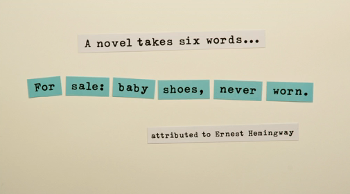 The shortest novel - The Art of Writing and Speaking English