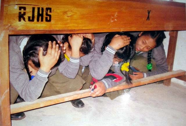 school safety preparedness programme rungbee jnanpith high school mungpoo