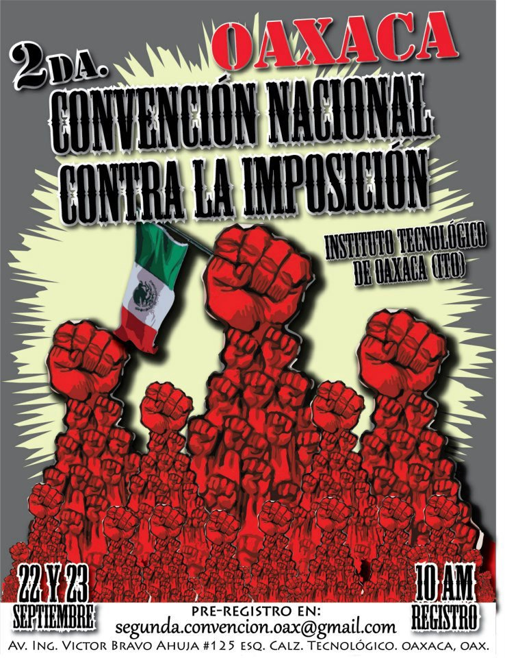 2da Convención Nacional Contra la Imposición