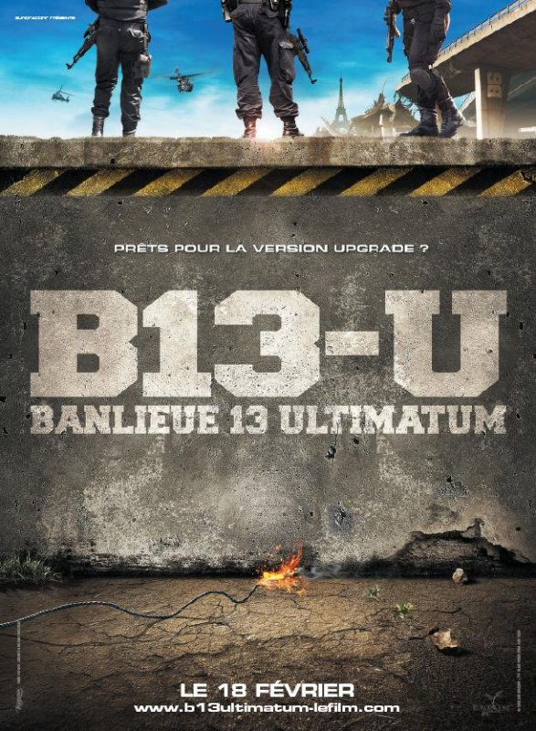 District 13: Ultimatum (2009) BRRip 550MB Mediafire