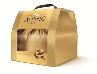 Panettone Alpino em embalagem para presente