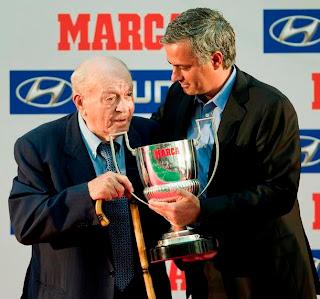 Mourinho igualó las victorias de Alfredo Di Stéfano