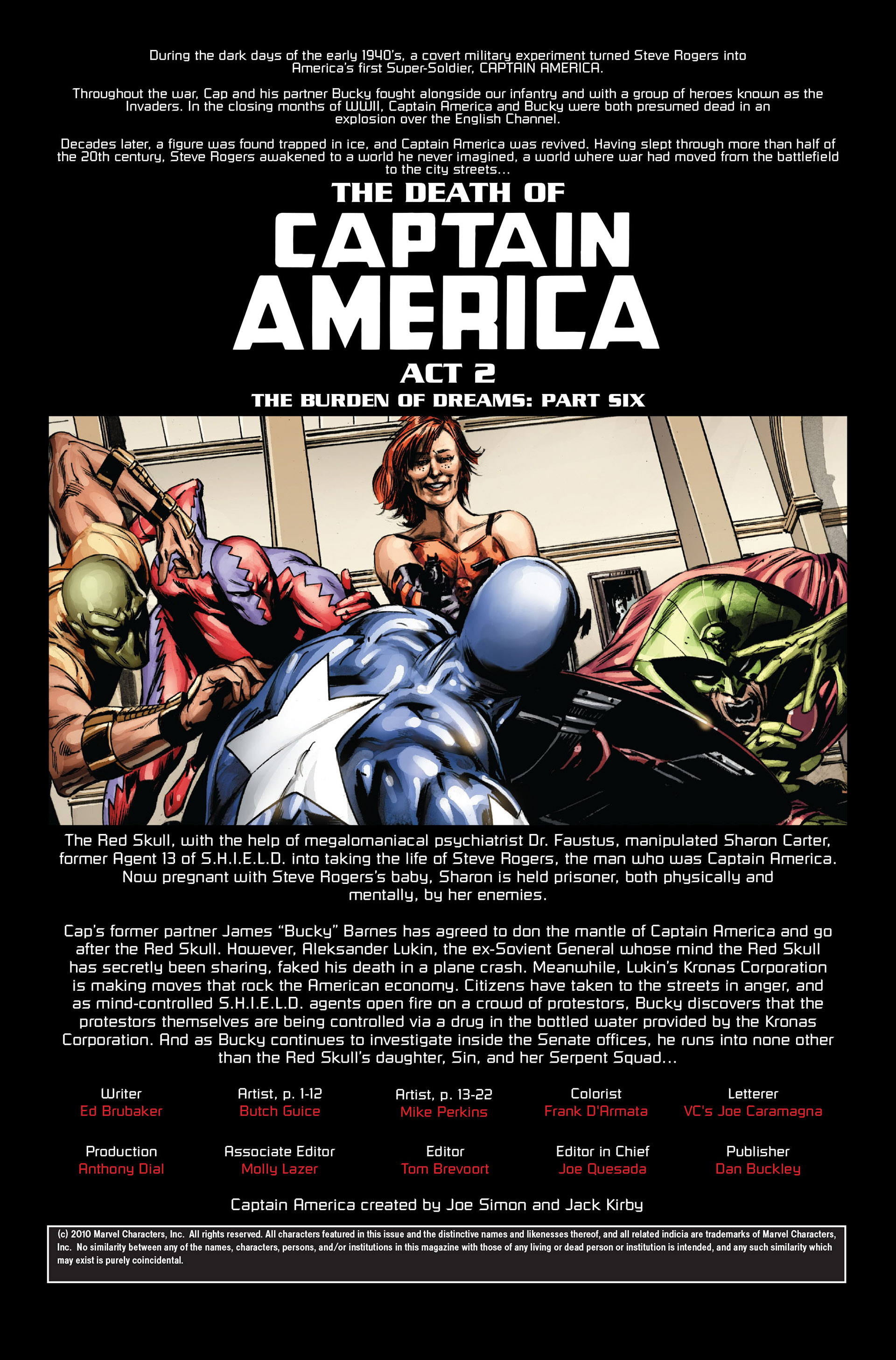 Captain America (2005) Issue #36 #36 - English 2