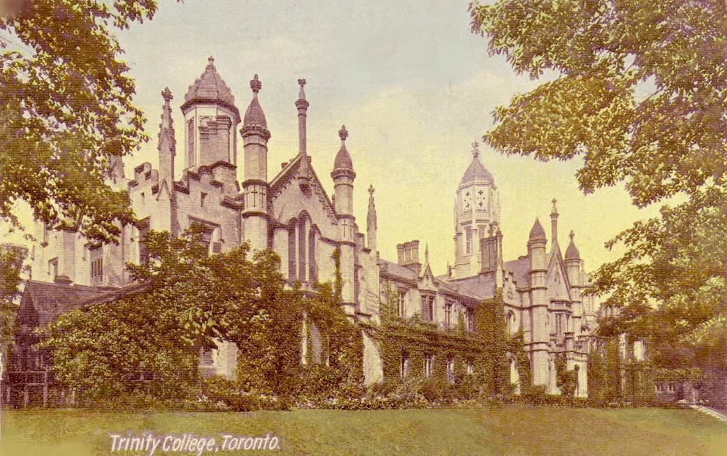 trinity college university of toronto essay Trinity college is a college of the university of toronto, founded in 1851 by bishop john strachan trinity was intended by strachan as a college of strong anglican.