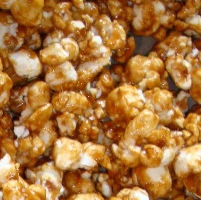 Caramel Corn, Cracker Jacks, a childhood favorite! A good treat ...