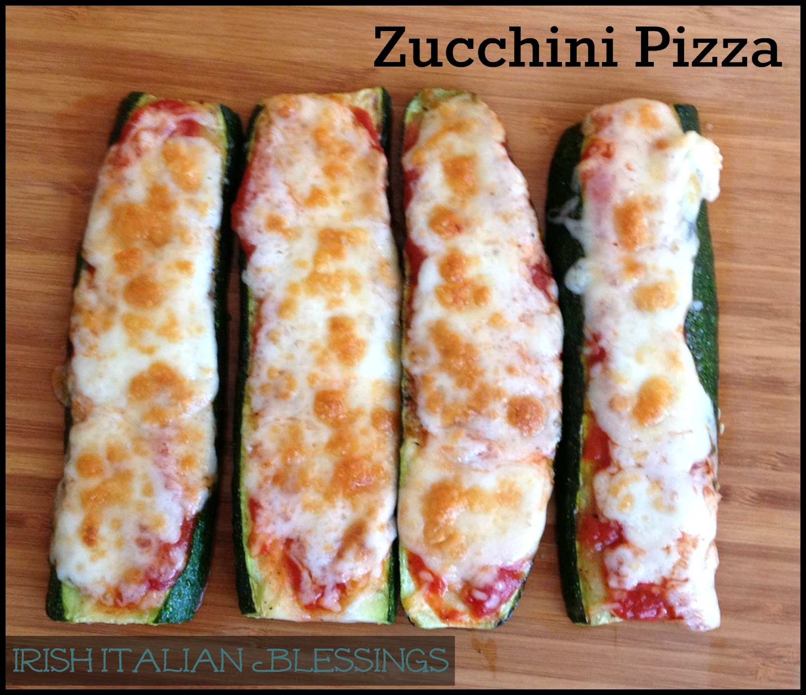 Zucchini Pizza – Easy & Healthy Alternative