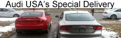 After disappointing auto show visit, Audi USA ships RS5, S6, S7 and S8 to customer's doorstep