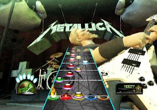 Captura de pantalla del Guitar Hero Metallica