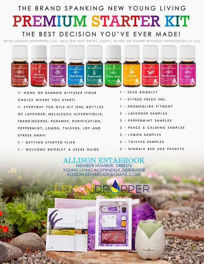Allison's Essential Oil Page