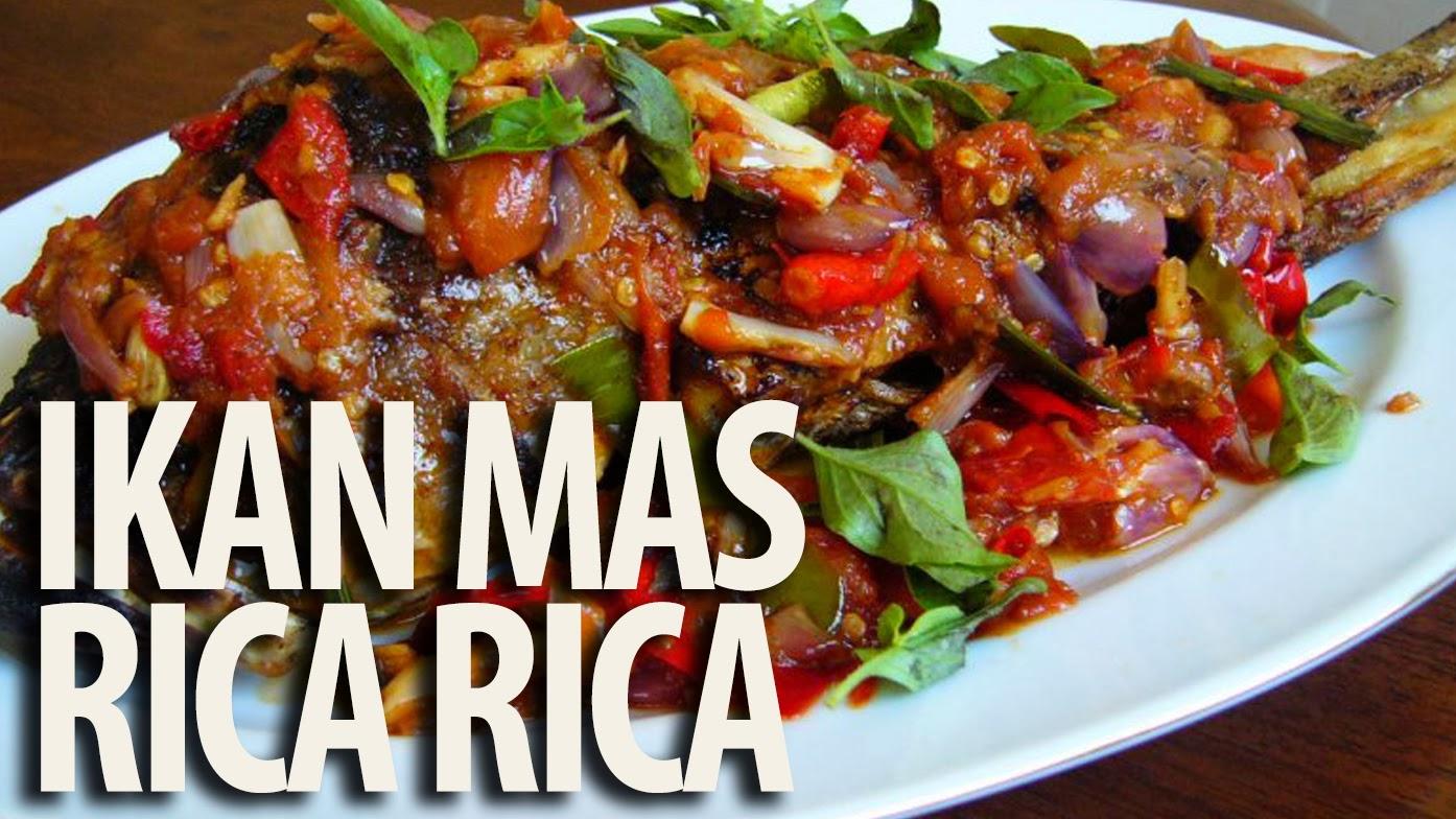 Resep Masakan Ikan Mas Rica Rica