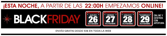 Black Friday 2015 El Corte Inglés