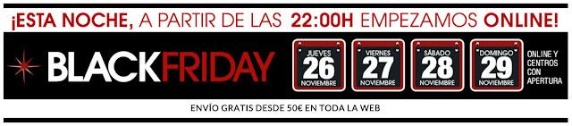 Black Friday 2015 El Corte Inglés