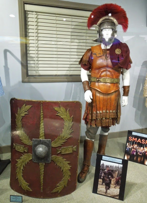 Channing Tatum The Eagle Roman centurion costume shield