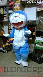 cho thuê mascot doremon