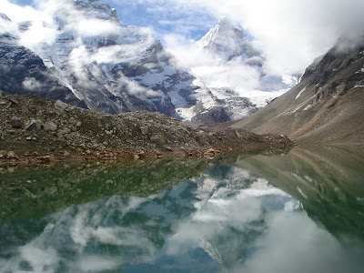 Kedartal in the Himalayas, Gangotri trekking
