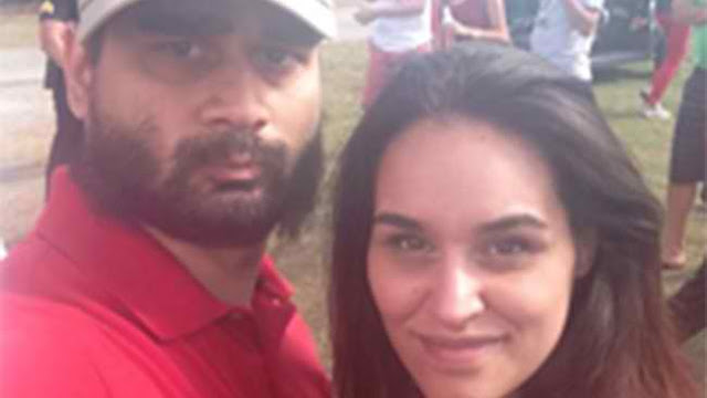 Derek Medina and Jennifer Alfonso. via Facebook