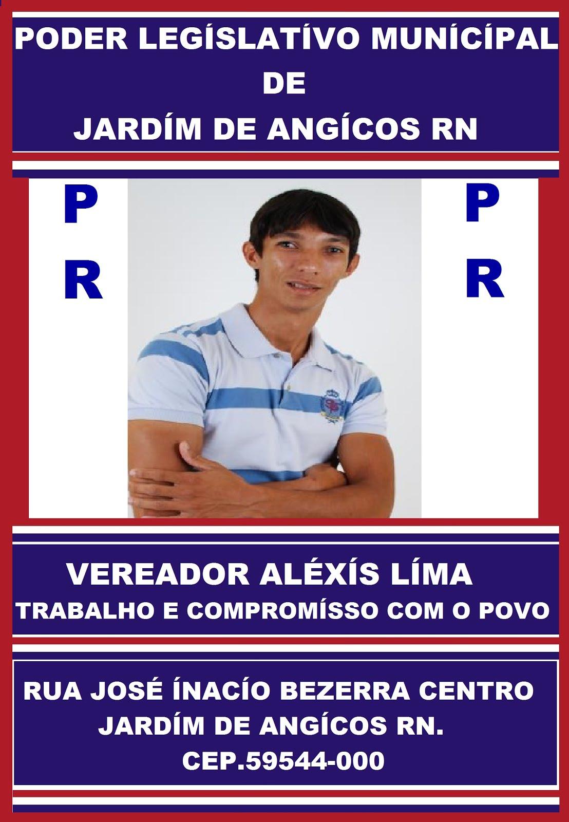 VEREADOR ALEXÍS LIMA JD RN