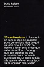 25 centímetros, DVD Ediciones, mayo 2010