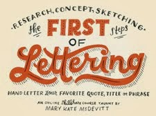 E-course: Learn to letter with Mary Kate Mc Devitt