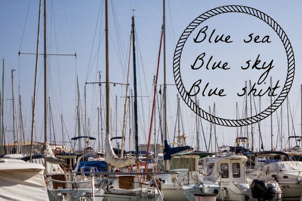 bershka, maripaz, pinkie, stradivarius, look otoño, azul klein, playa alicante, costa de alicante, alicante,