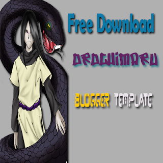 Download Orochimaru Blogger Template