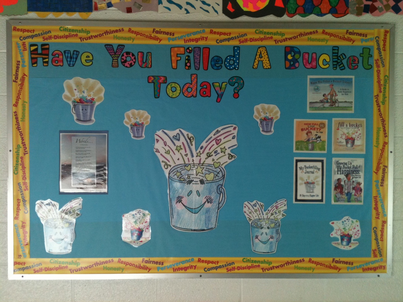 creative elementary counselor bucket filling