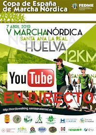 V MARCHA NÓRDICA EN DIRECTO TV