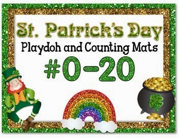 https://www.teacherspayteachers.com/Product/St-Patricks-Day-Playdoh-and-Counting-Mats-1711230