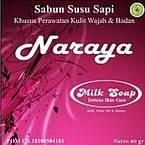 sabun susu naraya