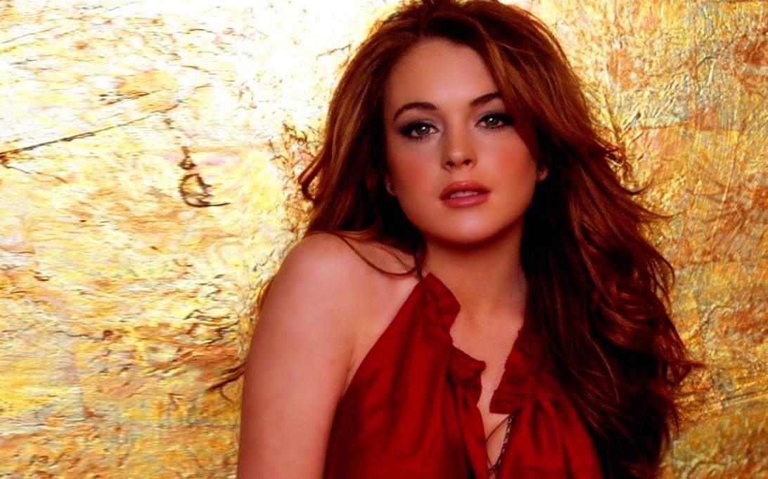 Lindsay Lohan widescreen wallpaper 1