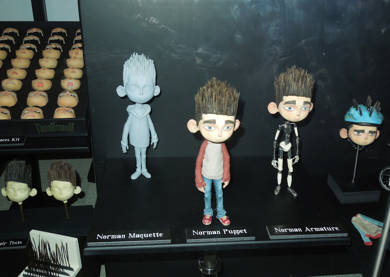 ParaNorman maquette stopmotion puppets
