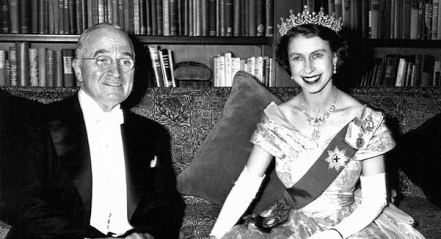 Princess Elizabeth and President Harry S. Truman