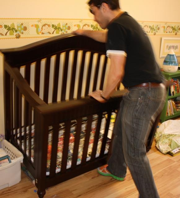 Uncommon Sense February - Convert crib into toddler bed