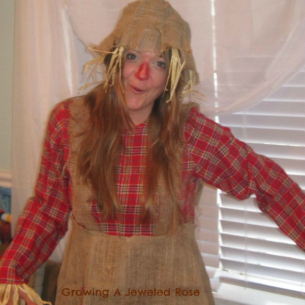 women's Halloween costumes- scarecrow costume