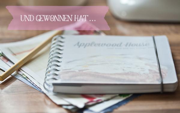 Gewinner Notizbuch persönlicher Kalender Applewood House