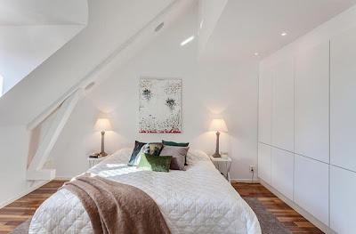 Interior Kamar Tidur Minimalis | Sumber gambar : Freshome.com