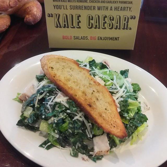 Boudin #Saladelicious Kale Caesar Salad