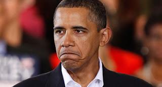 Barack Obama President Of America Looking sad